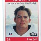 LEO BELL 1999 Big 33 Ohio OH High School card BOSTON COLLEGE