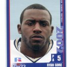RYAN GORE 2002 Big 33 Pennsylvania PA High School card TEMPLE Owls RB / LB