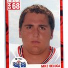MIKE DELUCA 2003 Big 33 Ohio OH High School card PITT Panthers