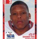 DAVANZO TATE 2003 Big 33 Ohio OH High School card WEST VIRGINIA Mountaineers