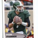 TYLER O'CONNOR 2017 Sage Hit Premier #18 ROOKIE Michigan State Spartans QB
