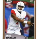 GREG WARD Jr. 2017 Sage Hit Premier GOLD SP #29 ROOKIE Houston Cougars WR