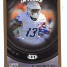 JEREMY McNICHOLS 2017 Sage Hit Premier In Focus GOLD SP #51 ROOKIE Boise State