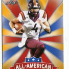 JEROD EVANS 2017 Leaf Draft All-American GOLD SP INSERT ROOKIE Virginia Tech Hokies WR