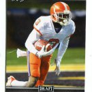 ARTAVIS SCOTT 2017 Leaf Draft #3 ROOKIE Clemson Tigers WR