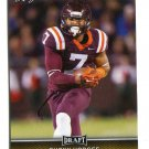 BUCKY HODGES 2017 Leaf Draft GOLD SP #7 ROOKIE Virginia Tech Hokies TE