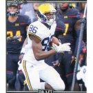 JEHU CHESSON 2017 Leaf Draft #35 ROOKIE Michigan Wolverines WR