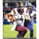 JEROD EVANS 2017 Leaf Draft #37 ROOKIE Virginia Tech Hokies WR