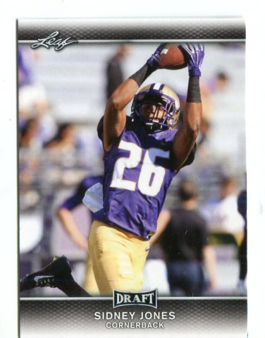 SIDNEY JONES 2017 Leaf Draft #60 ROOKIE Washington Huskies CB