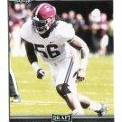 TIM WILLIAMS 2017 Leaf Draft #66 ROOKIE Alabama Crimson Tide OLB