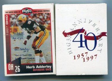 1997 Big 33 High School OH Ohio Football FACTORY SEALED set