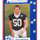 JEFF HARTINGS 1993 Penn State Second Mile College card OG Steelers