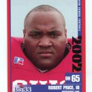 ROBERT PRICE III 2002 Big 33 Ohio OH High School card PENN STATE