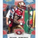 MICHAEL ROBINSON 2008 Score Super Bowl XLIII Light Blue PROMO #272 49ers PENN STATE #d/250