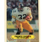 FRANCO HARRIS 1983 Topps Sticker Insert #15 Penn State STEELERS HOF