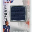 ANDRE McDONALD 2012 Upper Deck UD USA Football JERSEY Kansas State Wildcats TE