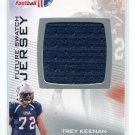 TREY KEENAN 2012 Upper Deck UD USA Football JERSEY Texas Tech Red Raiders OL