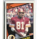 ART MONK 1984 Topps #384 ROOKIE Syracuse Orange REDSKINS HOF