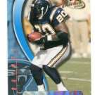 NATRONE MEANS 2000 Playoff Absolute Coach's Honors HOLOFOIL SP North Carolina CHARGERS #d/300