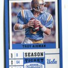 TROY AIKMAN 2017 Panini Contenders Draft Picks #99 Dallas Cowboys UCLA BRUINS QB