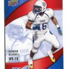 BRANDON McDOWELL 2013 Upper Deck UD USA Football #11 Texas State HOUSTON COUGARS