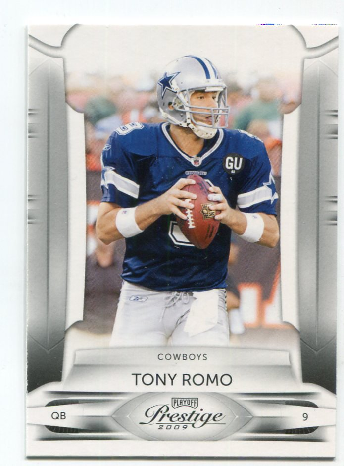 TONY ROMO 2009 Playoff Prestige #27 Dallas Cowboys QB