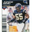 JUNIOR SEAU 2002 NFL Showdown #276 USC Trojans CHARGERS