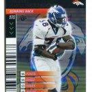 MIKE ANDERSON 2001 NFL Showdown FOIL REFRACTOR SP #129 DEnver Broncos