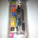 Compass, Protractor, Mechanical Pencil,Eraser, Ruler 8 Pack Set School Supplies