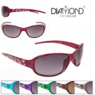Diamond Sunglasses for women new 100 UV Transparent frame Sunglasses