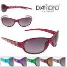 Diamond Sunglasses for women new 100 UV Transparent frame Sunglasses