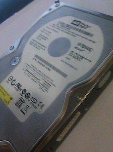 160 GB  harddrive sata WD1600AABS-61PRA0 Western Digital