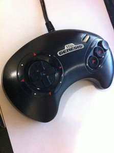 sega genesis controller video game console wired controller replacement