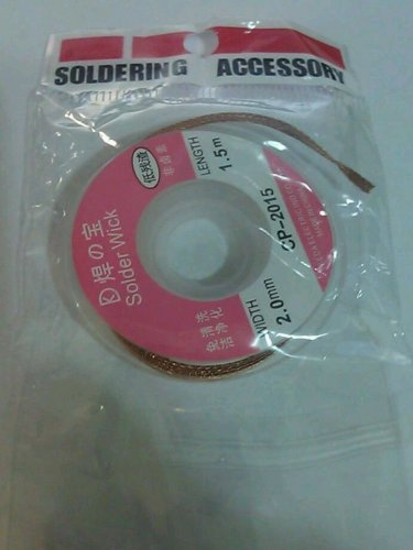 soldering wick braid wire 1.5 meter , soldering accessory solder removal