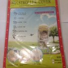 Eye Protective Window Stroller Cover Size Regular Fits Most