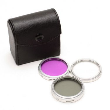 43mm 3pc UV FLD CPL Camera Dslr Filter Kit for Panasonic HDC-TM20 HS20 SD20
