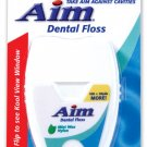 2X Brand New Aim Dental Floss 100 +20 Yards brand New Manufacturer Sealed