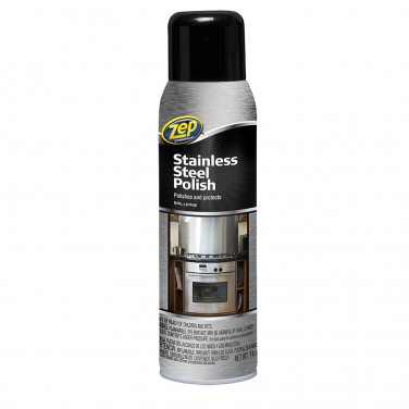 Zep Commercial ZUSSTL14 Stainless Steel Polish, 14 oz