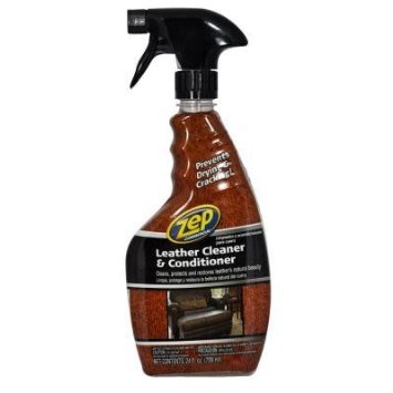 Zep 24oz Leather Cleaner and Conditioner Furniture Cleaner