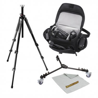 055XPRO3 MT055XPRO3 Tripod With Sony Deluxe Case, Dolly and Microfiber cloth