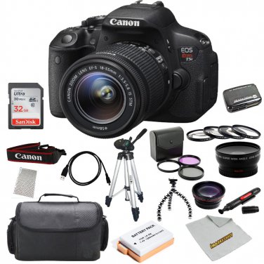 Canon Rebel EOS Rebel T5i Bundle Includes Accessory bundle