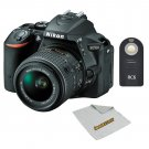 Nikon D5500 with 18-55mm Lens + Wireless Shutter Remote