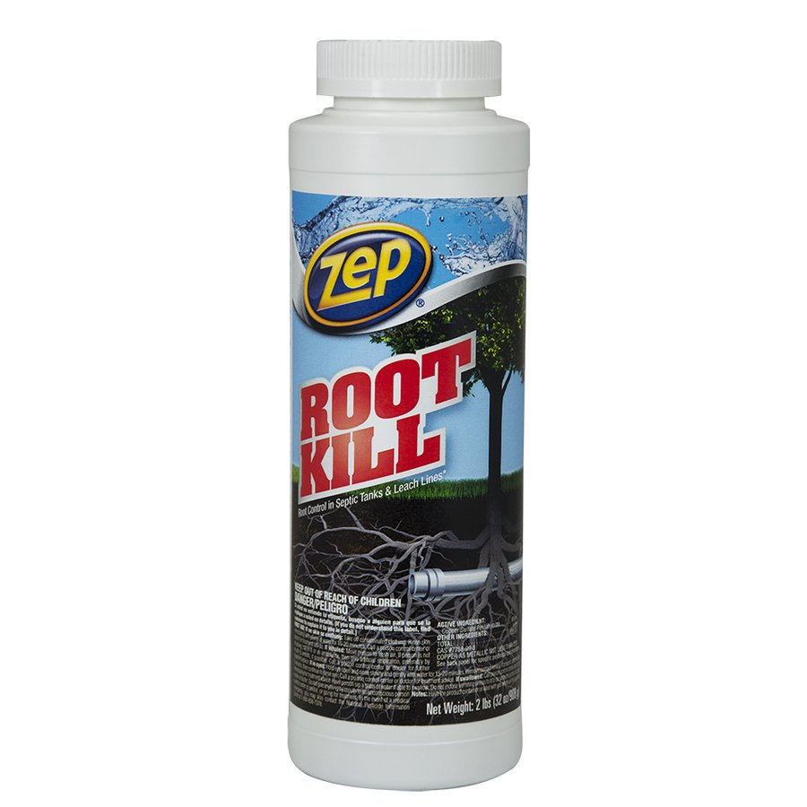 Zep Commercial 32-oz Drain Cleaner Crystals Effectively rids sewer pipes, drains and septic lines