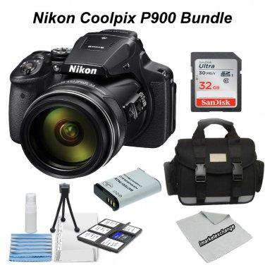 Nikon Coolpix P900 Essential Camera Bundle