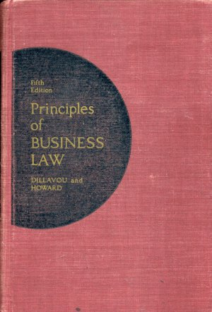 PRINCIPLES OF BUSINESS LAW (5TH EDITION)--Hardback