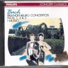 BACH: BRANDENBURG CONCERTOS NOS. 1, 2 & 3--CD