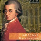 MOZART MUSICAL MASTERPIECES--CD & BOOK