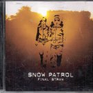 SNOW PATROL--FINAL STRAW--MUSIC CD