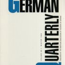 THE GERMAN QUARTERLY--VOL. 69, NO. 1--WINTER 1996