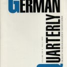 THE GERMAN QUARTERLY--VOL. 68, NO. 4--FALL, 1995